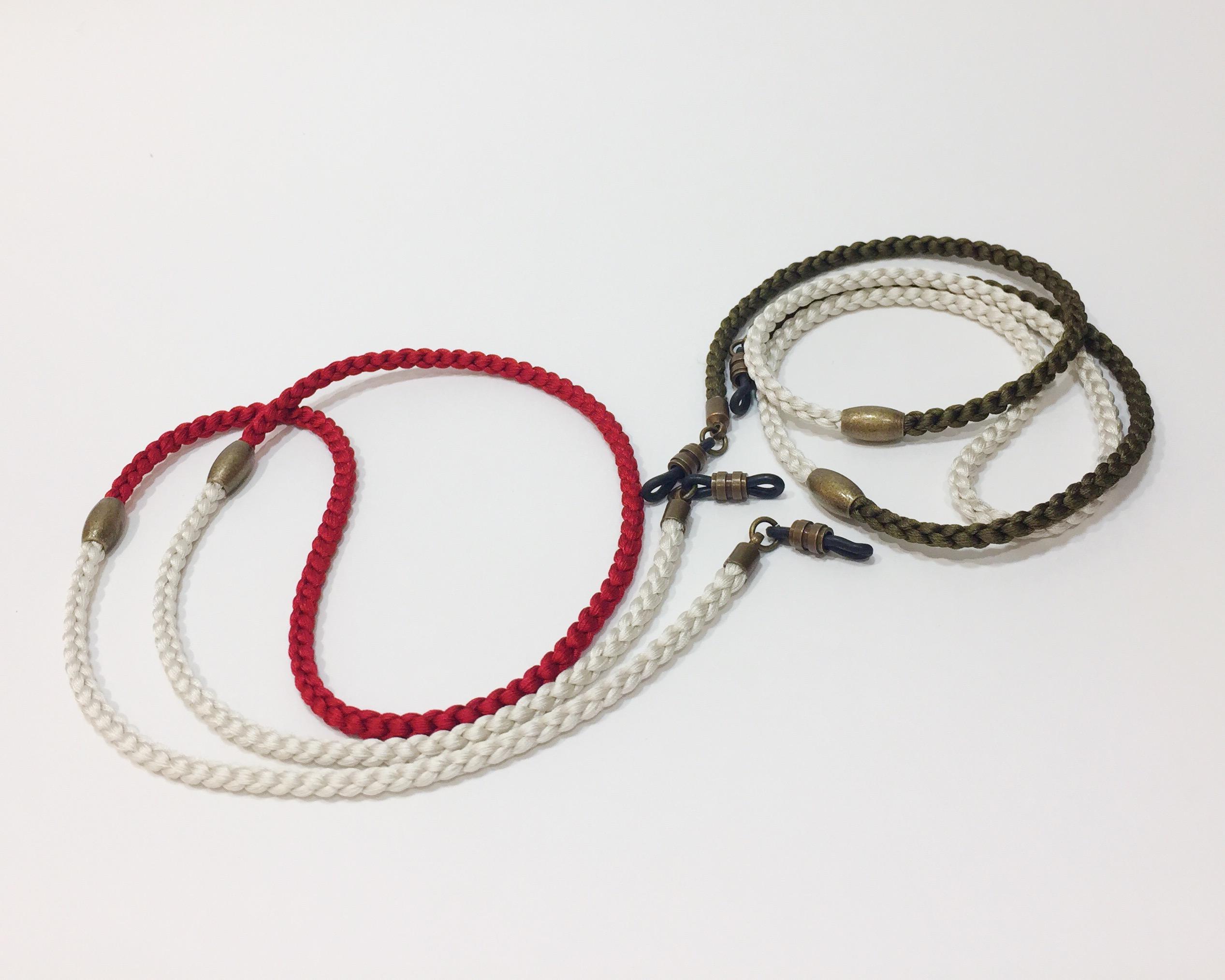 TWO TONE SILKY CODE_7000_RED&WHITE_WHITE&KHAKI